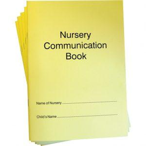Nursery Communication Book - Set of 5