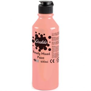 600ml Ready Mixed Paint - Pink