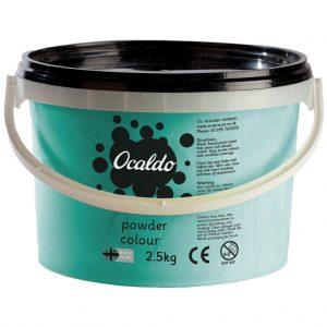 Powder Paint, 2.5kg tub - Turquoise