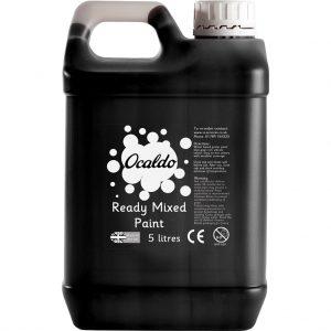 5 Litre Ready Mixed Paint - Black