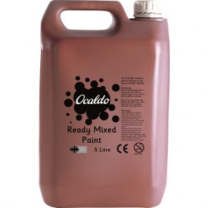 5 Litre Ready Mixed Paint - Burnt Umber