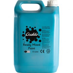 5 Litre Ready Mixed Paint - Turquoise