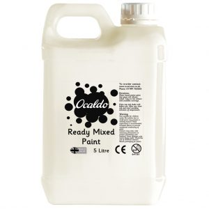 5 Litre Ready Mixed Paint - White
