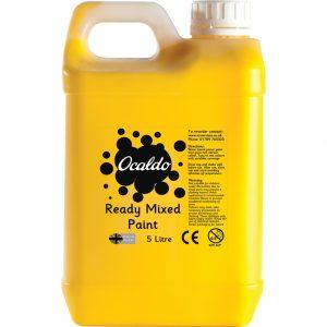 5 Litre Ready Mixed Paint - Brilliant Yellow