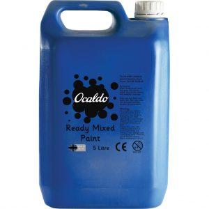 5 Litre Ready Mixed Paint - Brilliant Blue