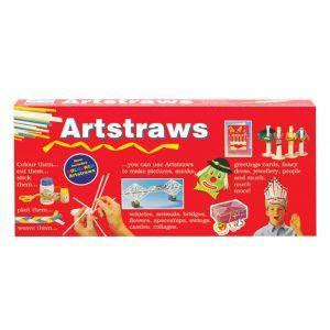 AA9017 Artstraws Long Pack, Asst Cols