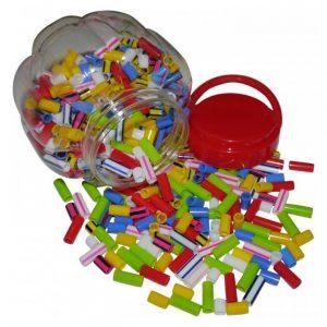 Barrel Straw Beads