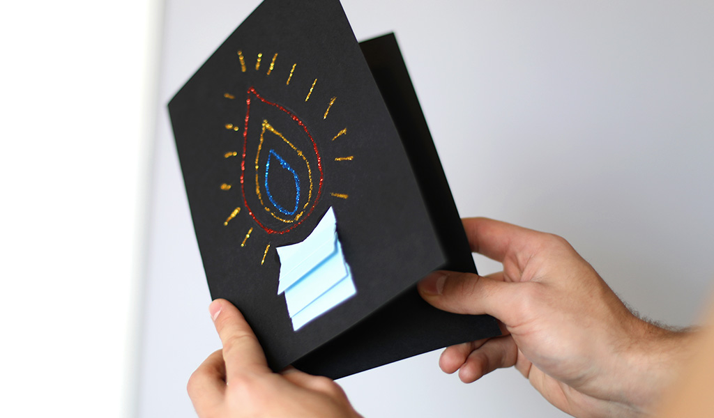 How to Make Diwali Cards Step by Step
