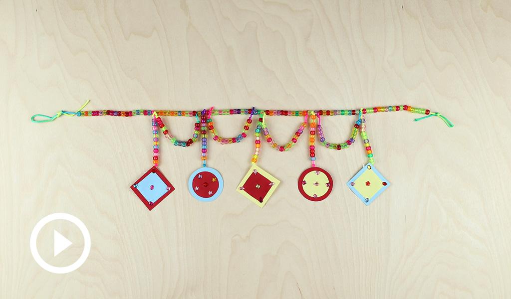 Diwali Hanging Craft