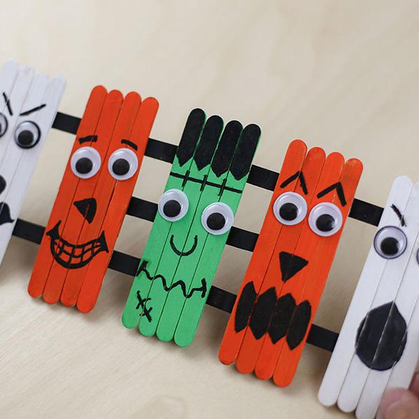 halloween-lollipop-sticks-craft-idea