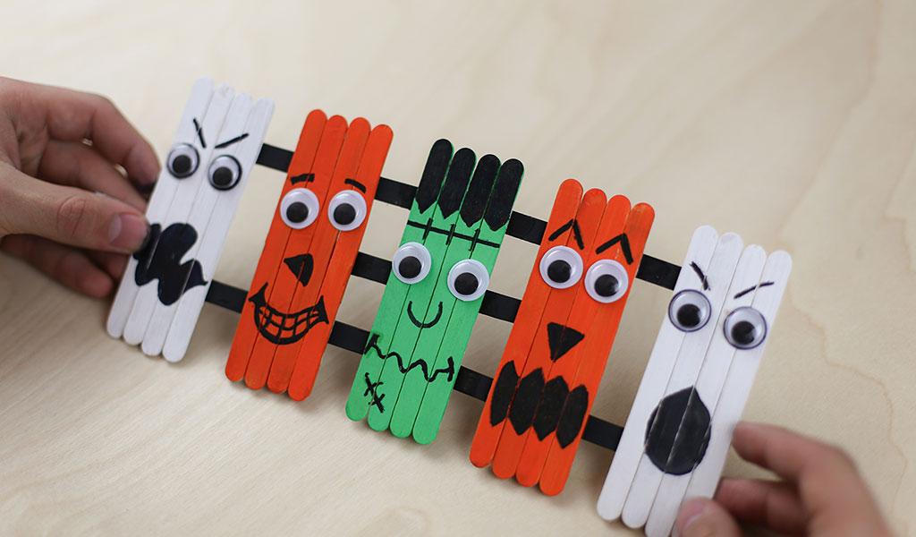 Halloween Painting Ideas – Lollipop Sticks