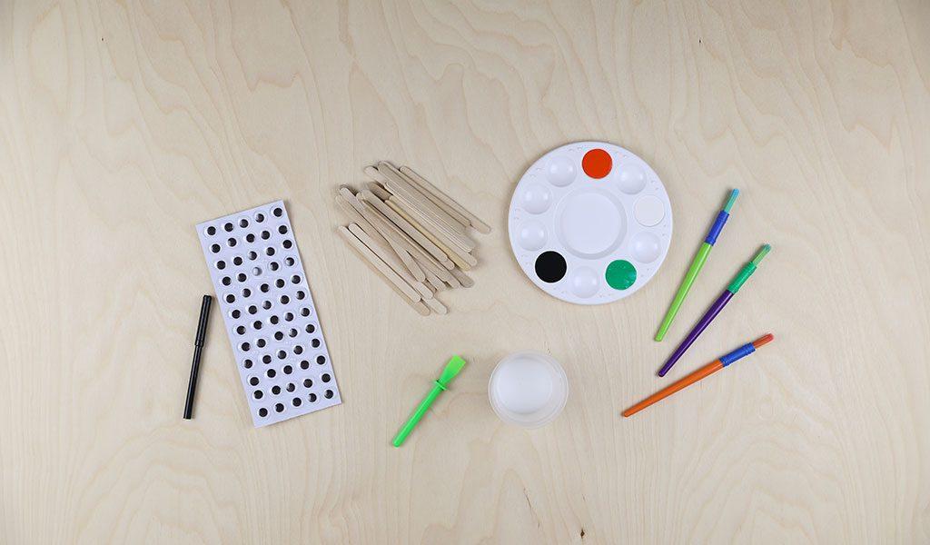 Halloween Lollipop Sticks - Craft items required