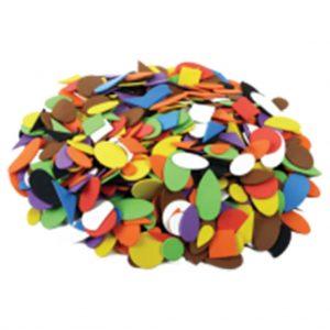 foam assorted shapes