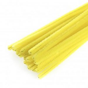 yellow pipe cleaners