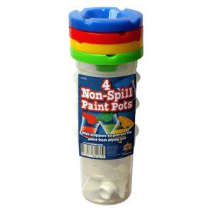 Non Spill Paint Pots