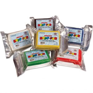 Soff Fun 500g Blocks - 6 Assorted Colours