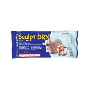 Air Drying Clay White 1kg Block