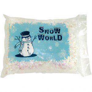 Iridescent Snowflakes 500g Bag